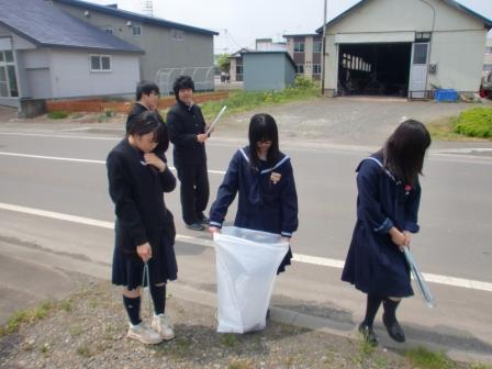 月形高等学校制服画像